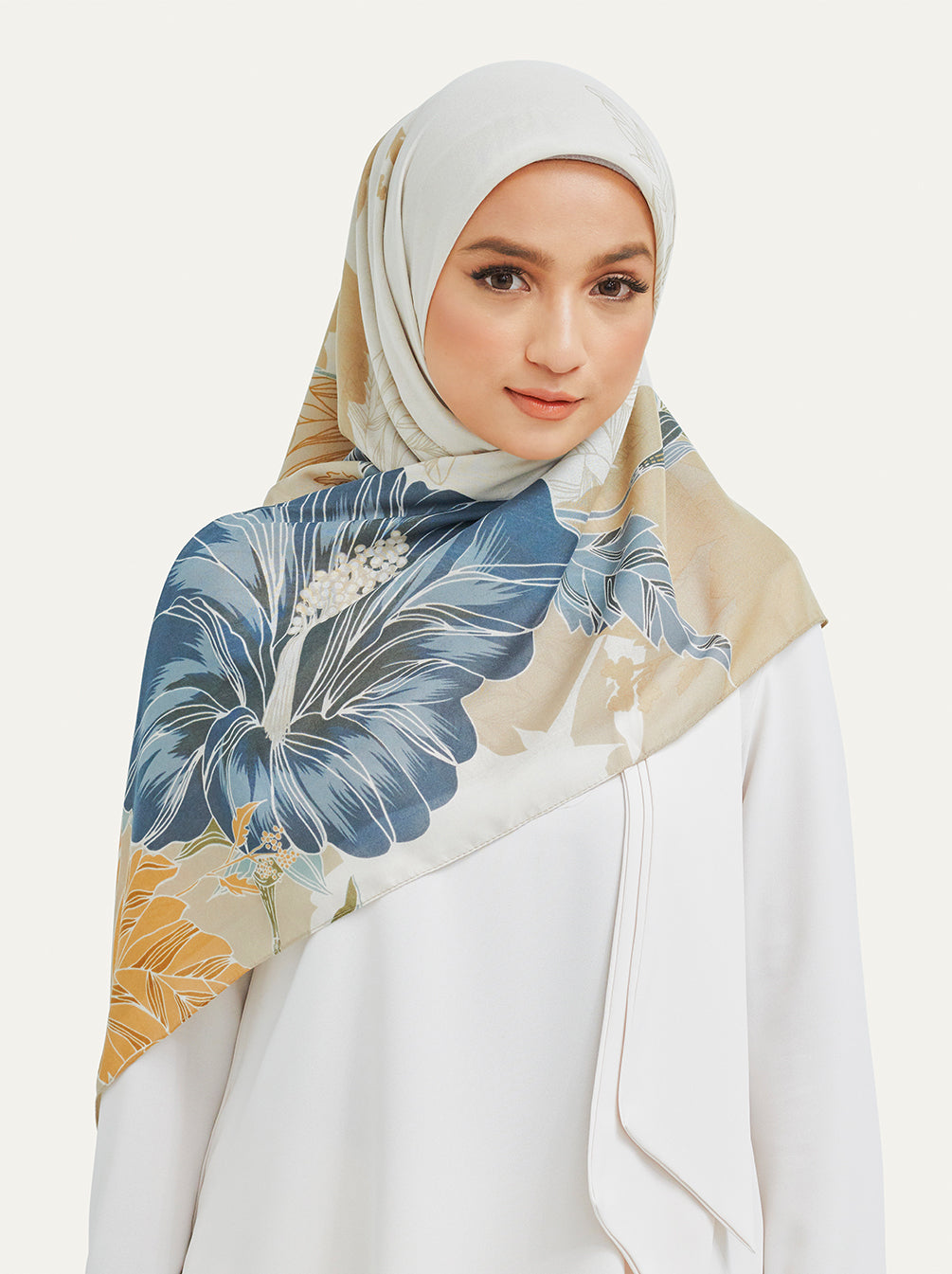 Minira Scarf in Blue Sand