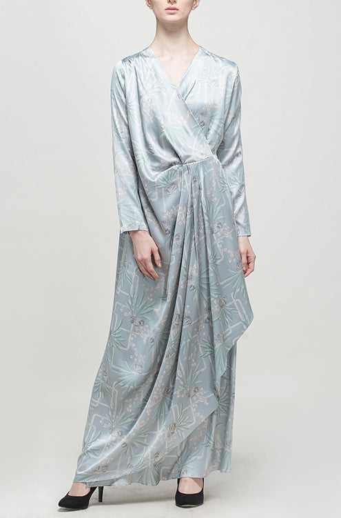 MAHONI DRESS TAUPE GREY