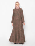 RAESHA DRESS TERACOTTA