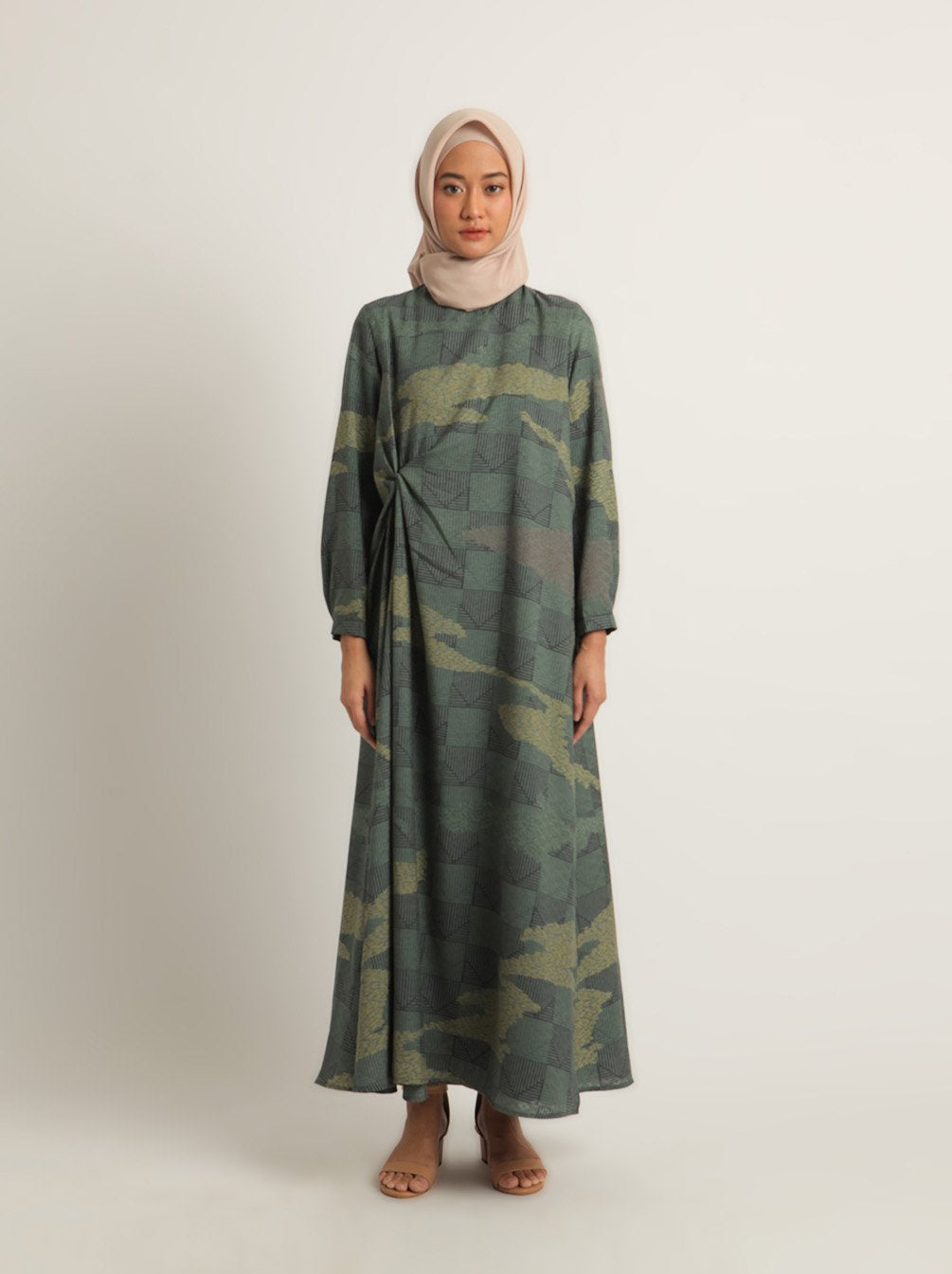 ZANE BREASTFEEDING DRESS SPRUCE