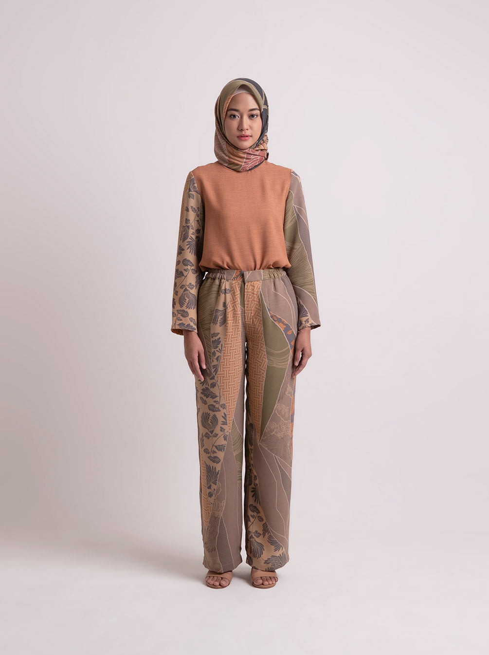 ADLEY PANTS SHELL CORAL