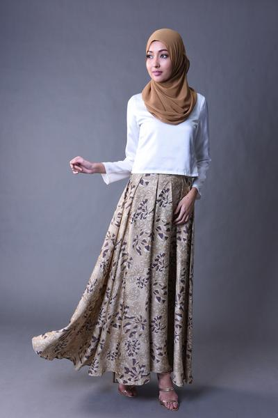 SOKA SKIRT BROWN