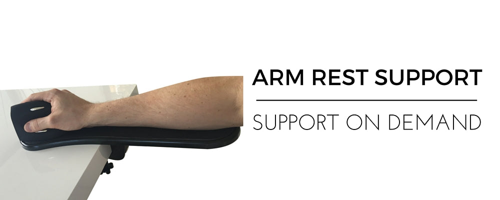 Arm Rest Support Attaches to desk