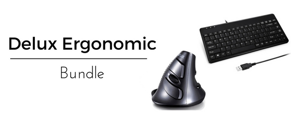 Delux Ergonomic Bundle Pack