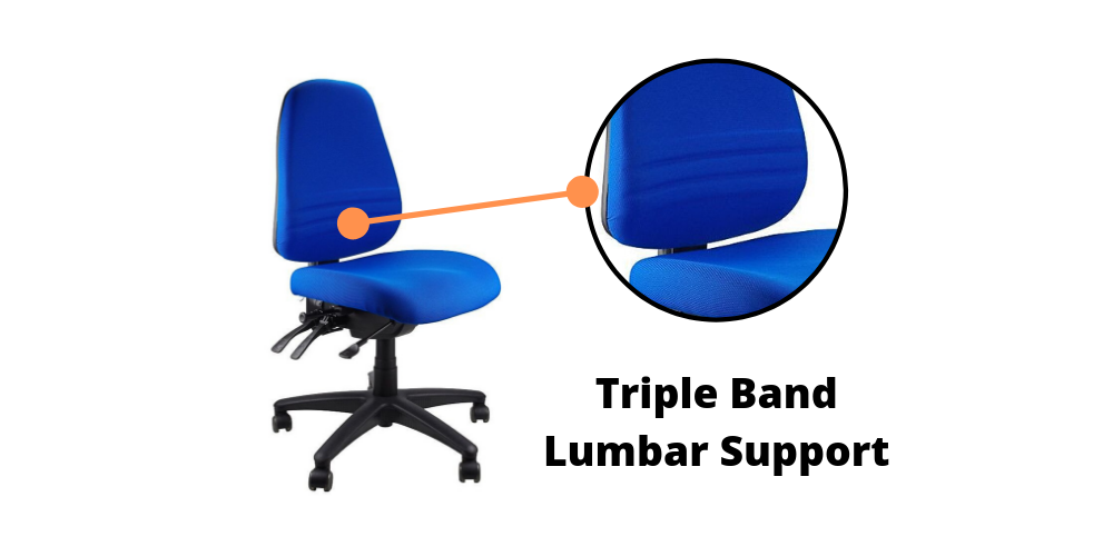 Endeavour 103 Ergonomic Office Chair lumbar support