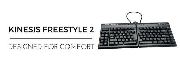 Kinesis freestyle 2 ergonomic keyboard