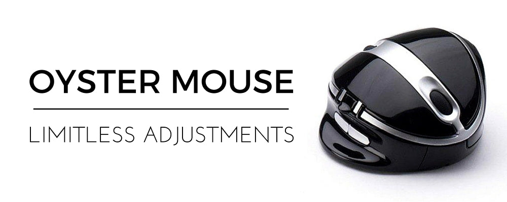Oyster Mouse ergonomic