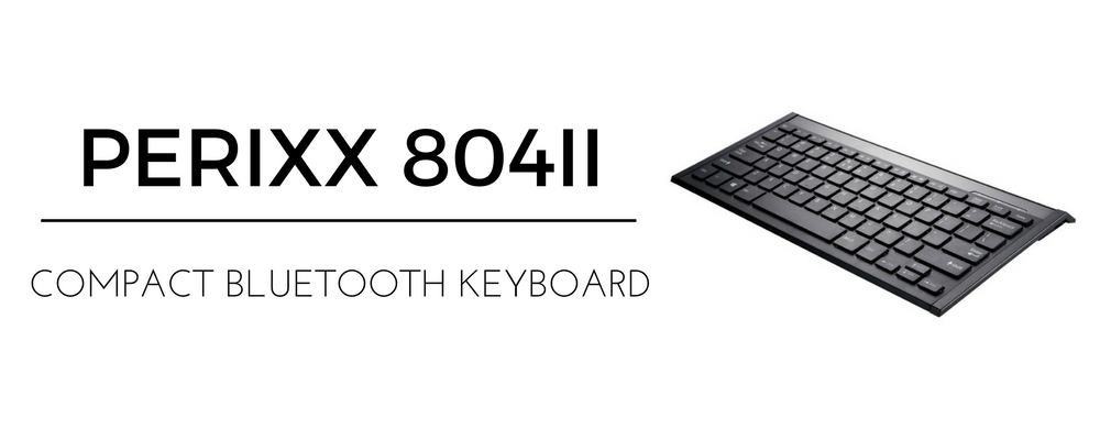 Perixx Compact Bluetooth Keyboard 804II