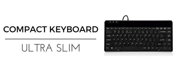 Compact Ergonomic Keyboard for Arthritis