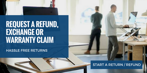 Refund return exchange no more pain ergonomics