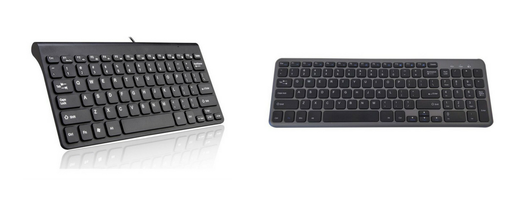 Compact Ergonomic Keyboard