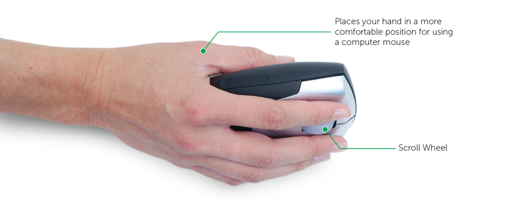 Vertical Ergonomic Mouse for Carpal Tunnel Syndrome