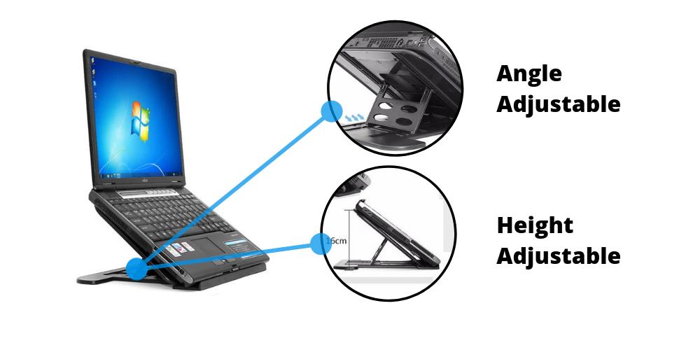 laptop riser stand
