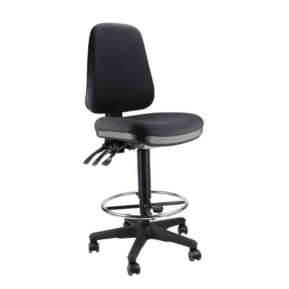 Middy Drafting Ergonomic office chair for bench height