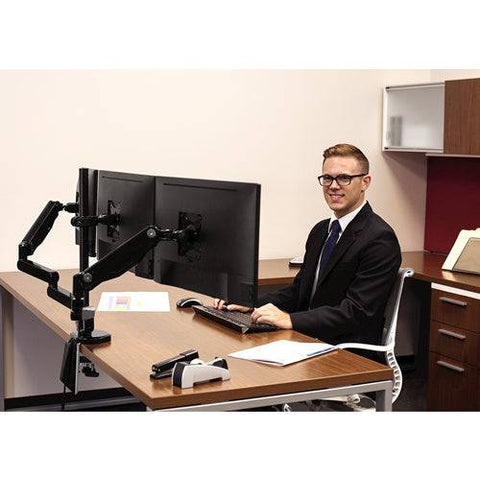 Fellowes Platinum Monitor Arm - Triple