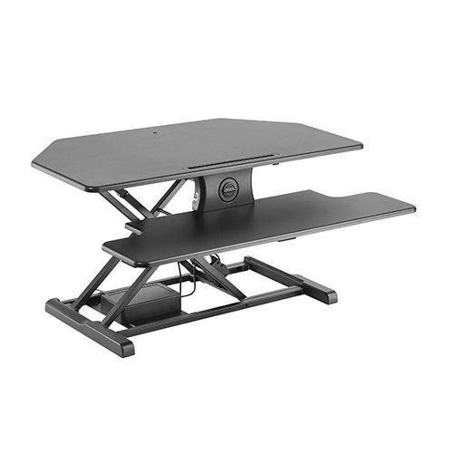 DeskMatic Corner Electric Standing Desk