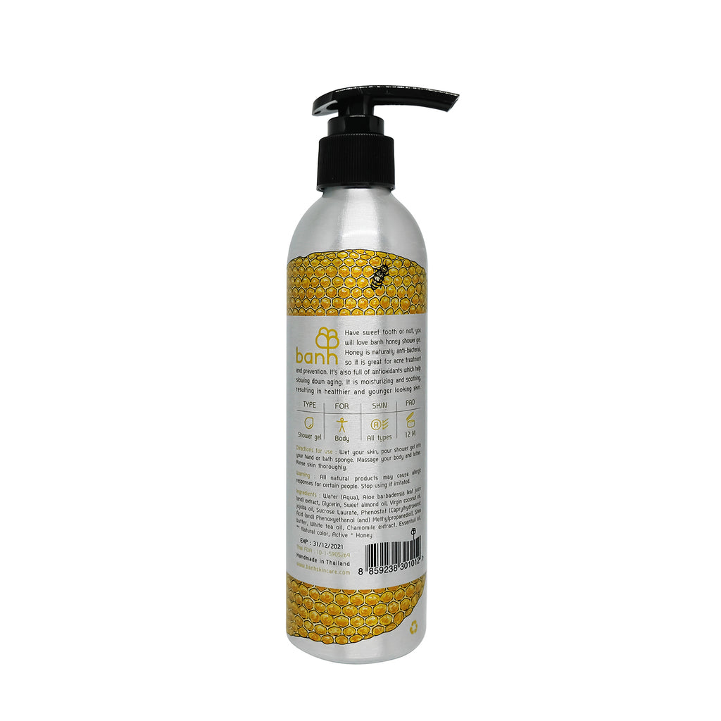 Honey Shower Gel - Moisturizing & Anti-bacterial