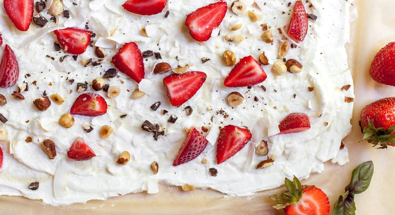 Strawberry Yogurt Bark Recipe