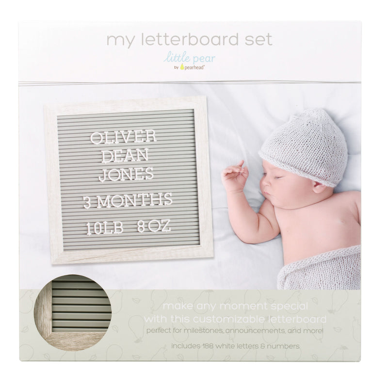 Little Pear Letter Board Kit