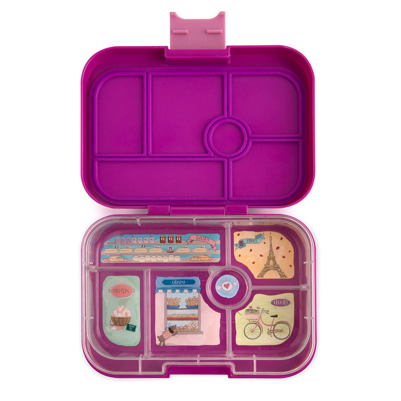 Yumbox Lunch Box Bijoux Purple 6 Compartment