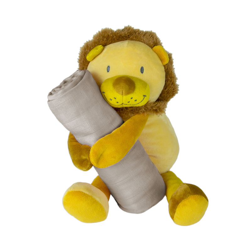 Weego Colourplay Plush Toy + Muslin - Lion