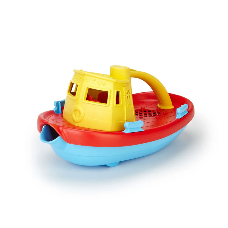 Green Toys Tugboat Yellow