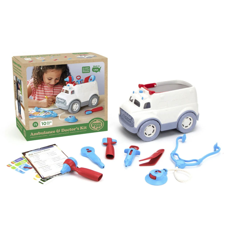 Green Toys Ambulance & Doctor's Kit