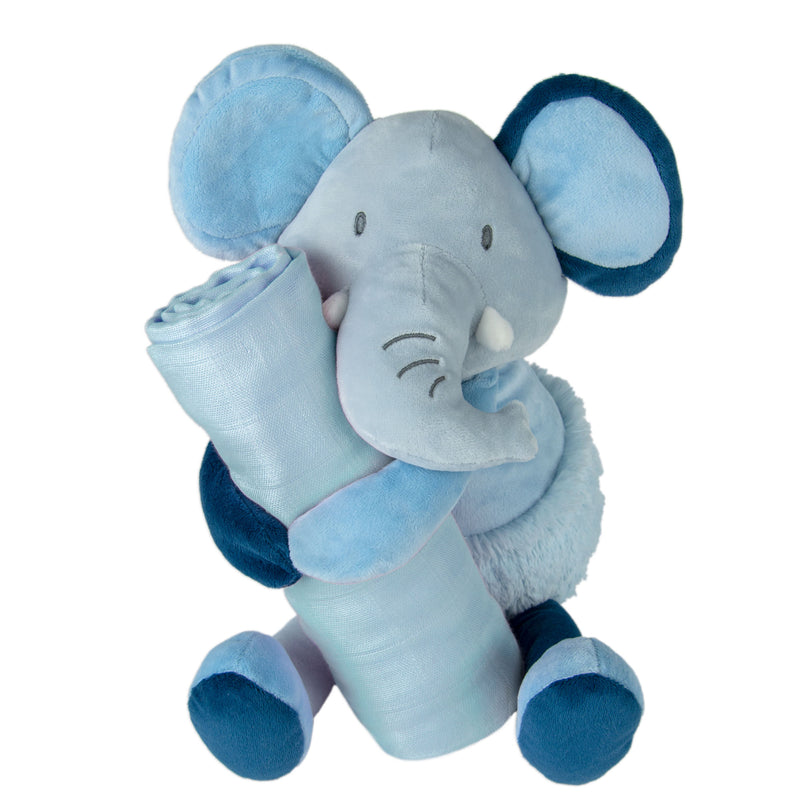 Weego Colourplay Plush Toy + Muslin - Elephant