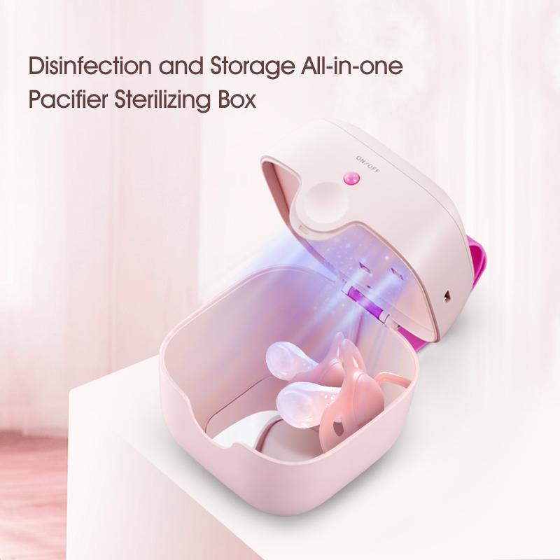 59S UVC LED Mini Sterilizing Box - S6 White