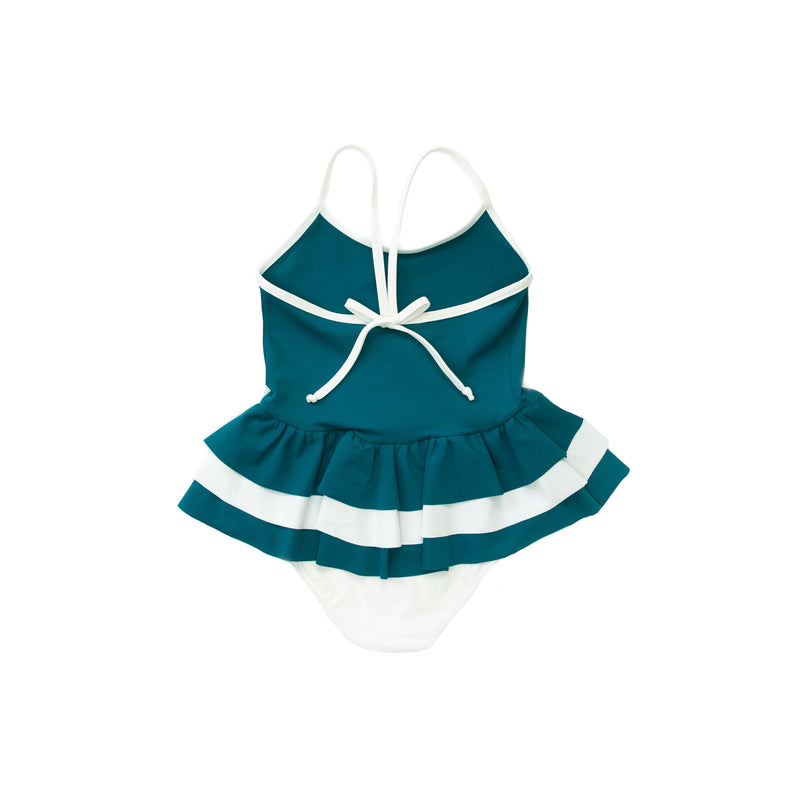 Folpetto Amelia One Piece Teal Swimsuit