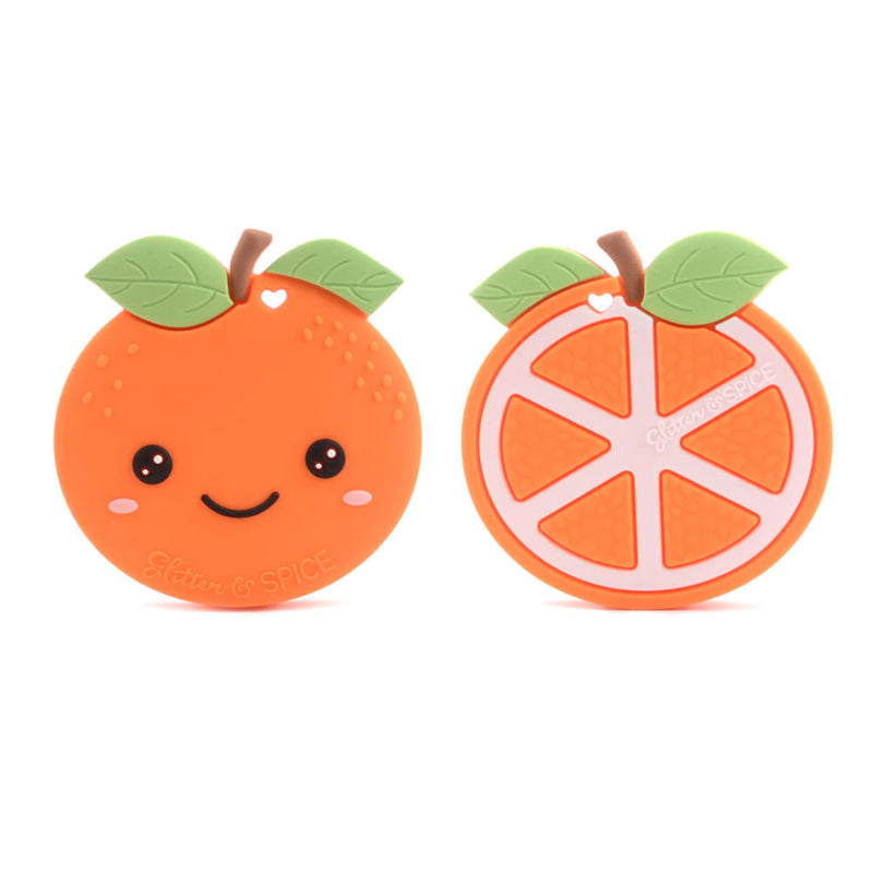 Glitter & Spice Orange Teether - Clementine
