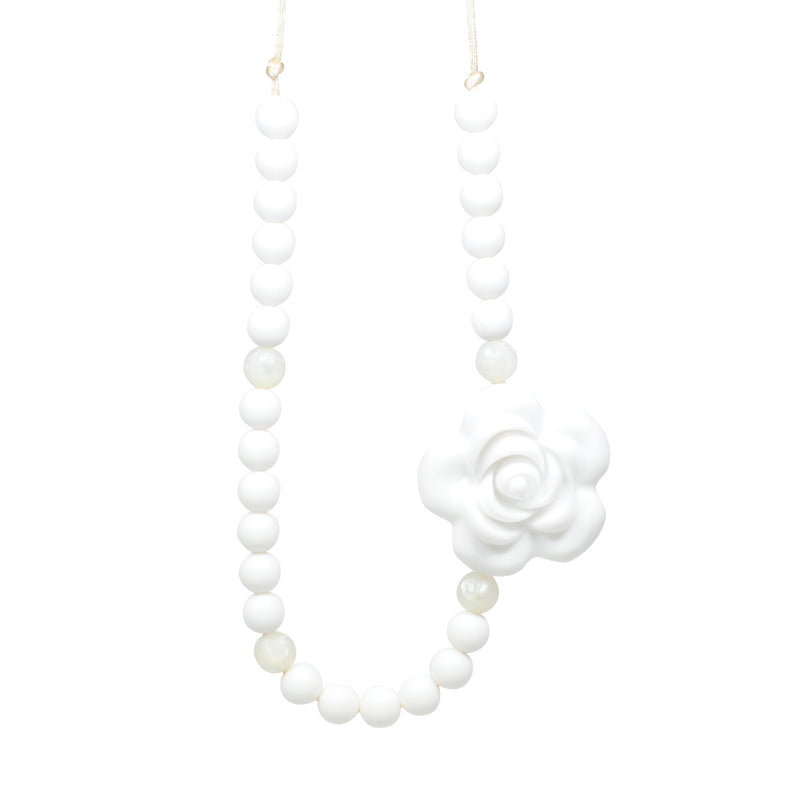 Glitter & Spice Kids Silicone Teething Necklace - Giselle