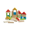 Plan Toys Colorful 40 Unit Blocks