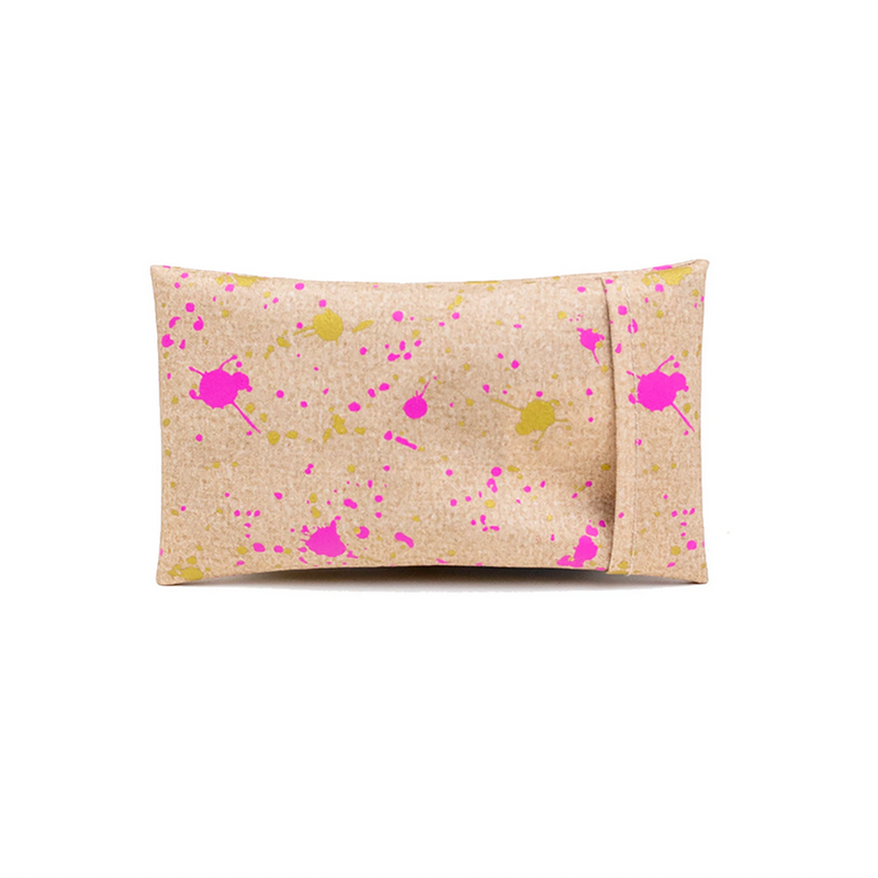 SoYoung No Sweat Ice Pack - Fuchsia + Gold Splatter