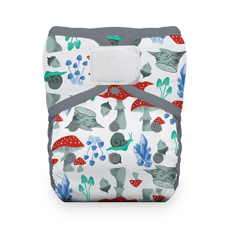 Thirsties One Size Pocket Diaper H&L - Forest Frolic