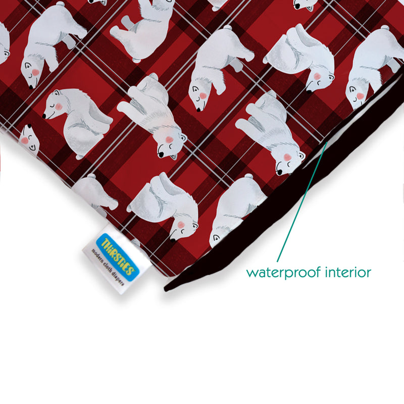 Thirsties Wet Dry Bag - Polar Plaid