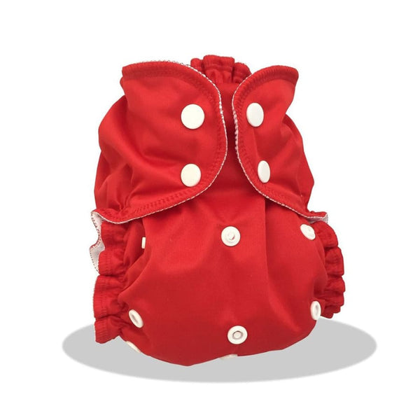 AppleCheeks One Size Cherry Tomato | AppleCheeks | Cloth Diaper