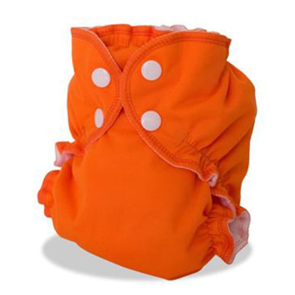 AppleCheeks One Size Orange You Glad | AppleCheeks | Cloth Diaper