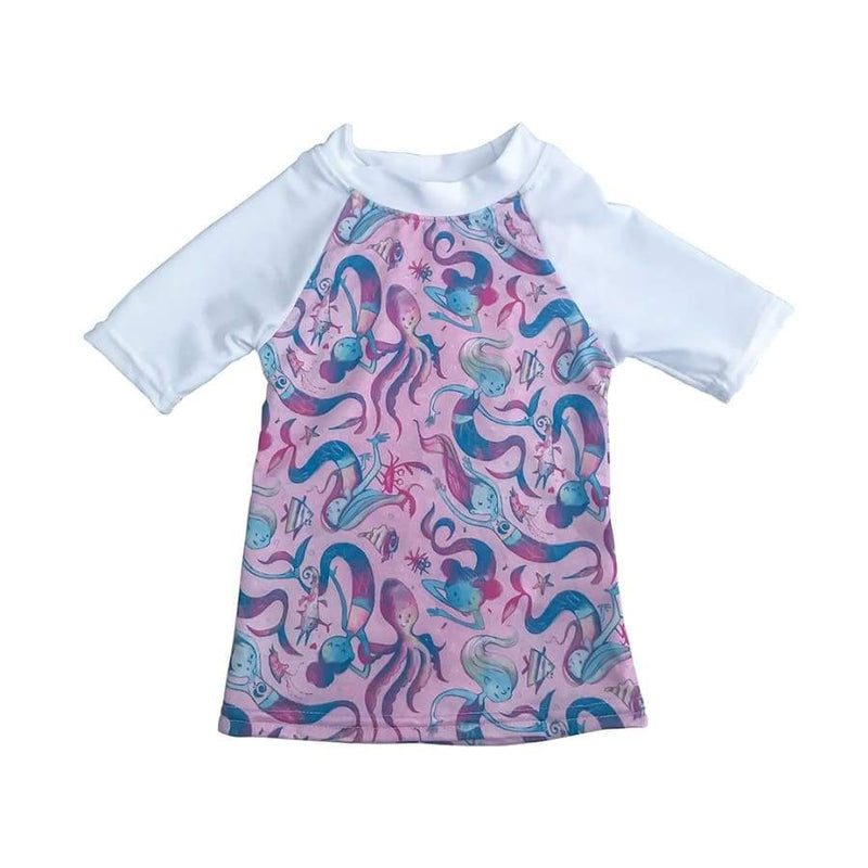 AppleCheeks UPF50+ Swim Shirts - Shellphone | AppleCheeks | Cloth Diaper