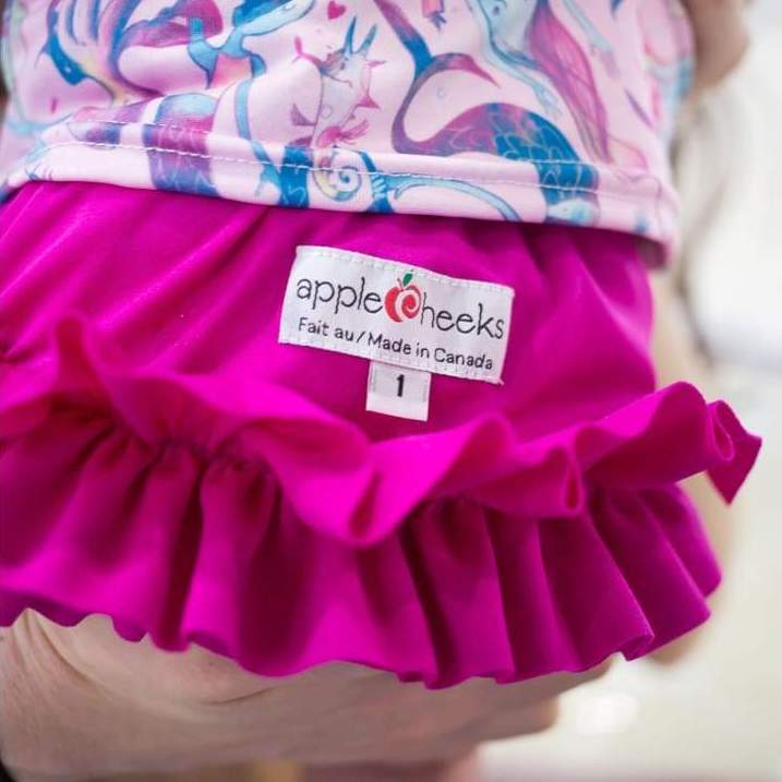 AppleCheeks Washable Swim Diapers Berry Berry Much | AppleCheeks | Swim Diapers