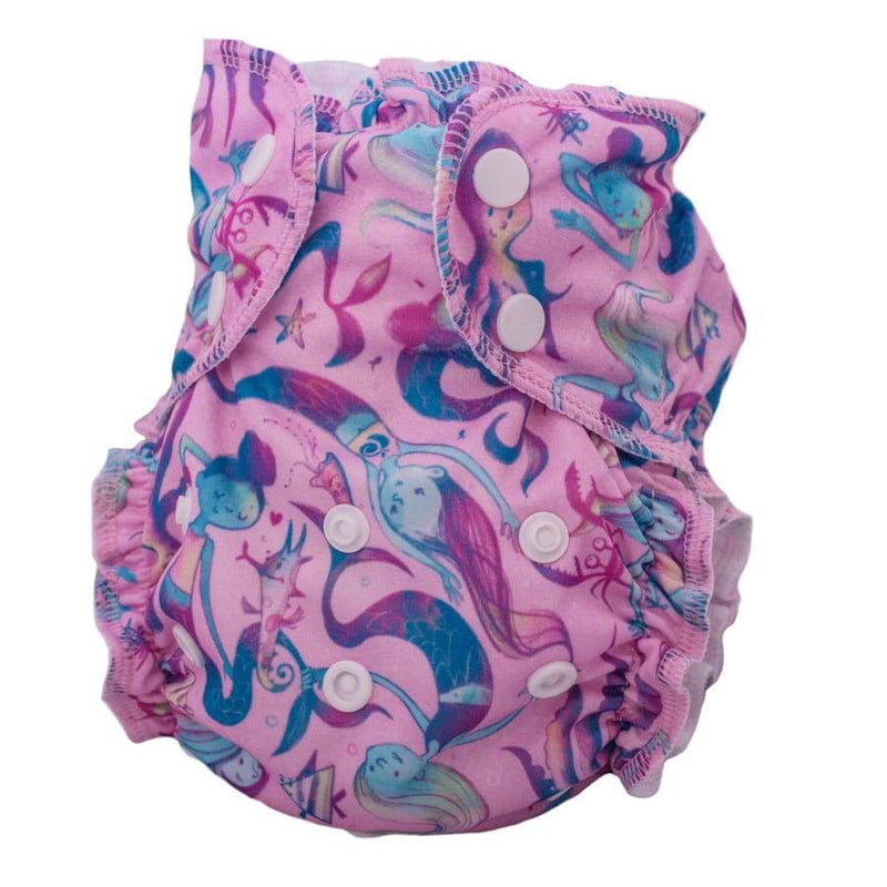 AppleCheeks Washable Swim Diapers - ShellPhone One Size | AppleCheeks | Cloth Diaper