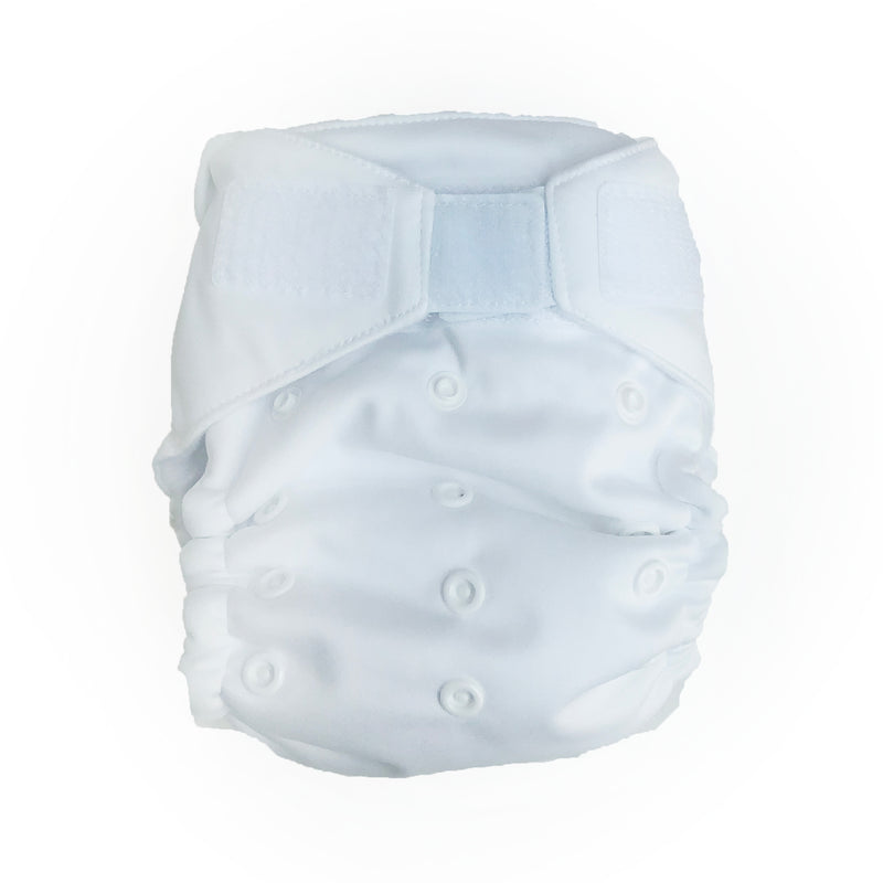 Baby Beehinds Magicall All-In-Two Cloth Diaper - Artic White