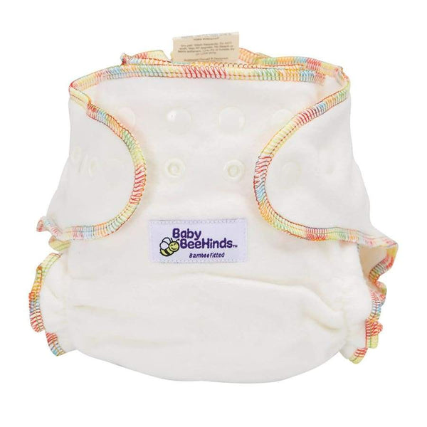 Baby Beehinds Bamboo Fitted Nappy | Baby Beehinds | Cloth Diaper