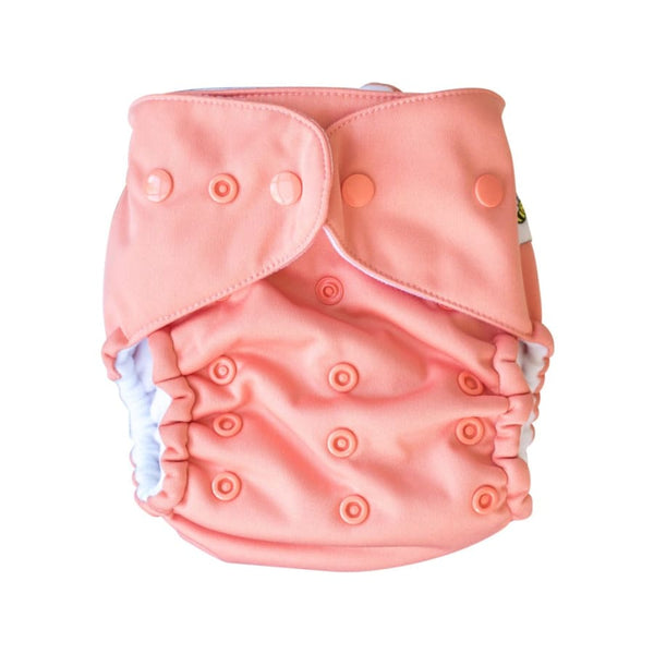Baby Beehinds Magicall Multi-Fit Cloth Diaper - Coral | Baby Beehinds | Cloth Diaper