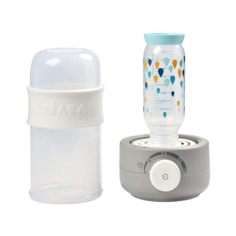 Beaba Baby Milk Second Bottle Warmer - Grey | Beaba | Baby Feeding