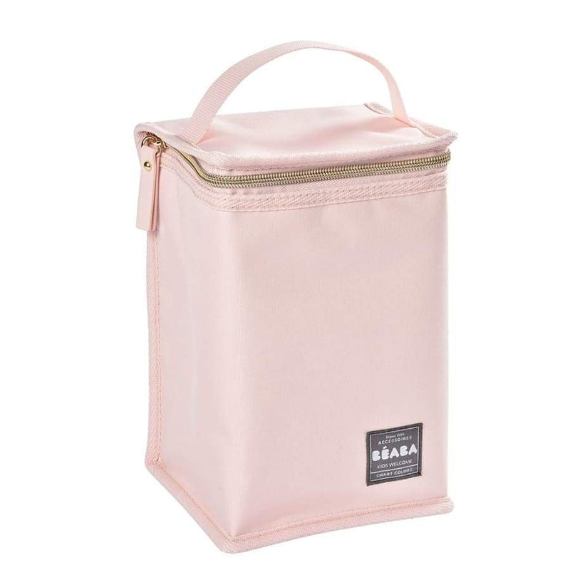Beaba Isothermal Meal Pouch - Pink/ Gold | Beaba | Baby Feeding