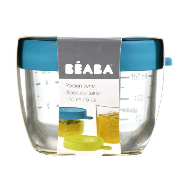 Beaba Superior Glass 150ML Blue | Beaba | Baby Feeding