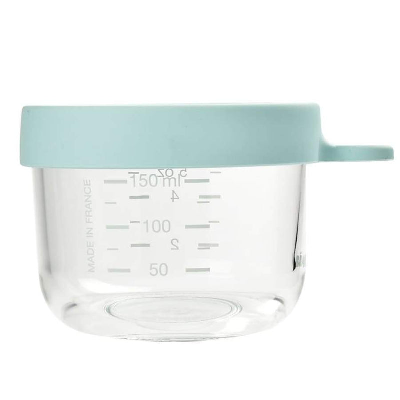 Beaba Superior Glass 150ML Light Blue | Beaba | Baby Feeding