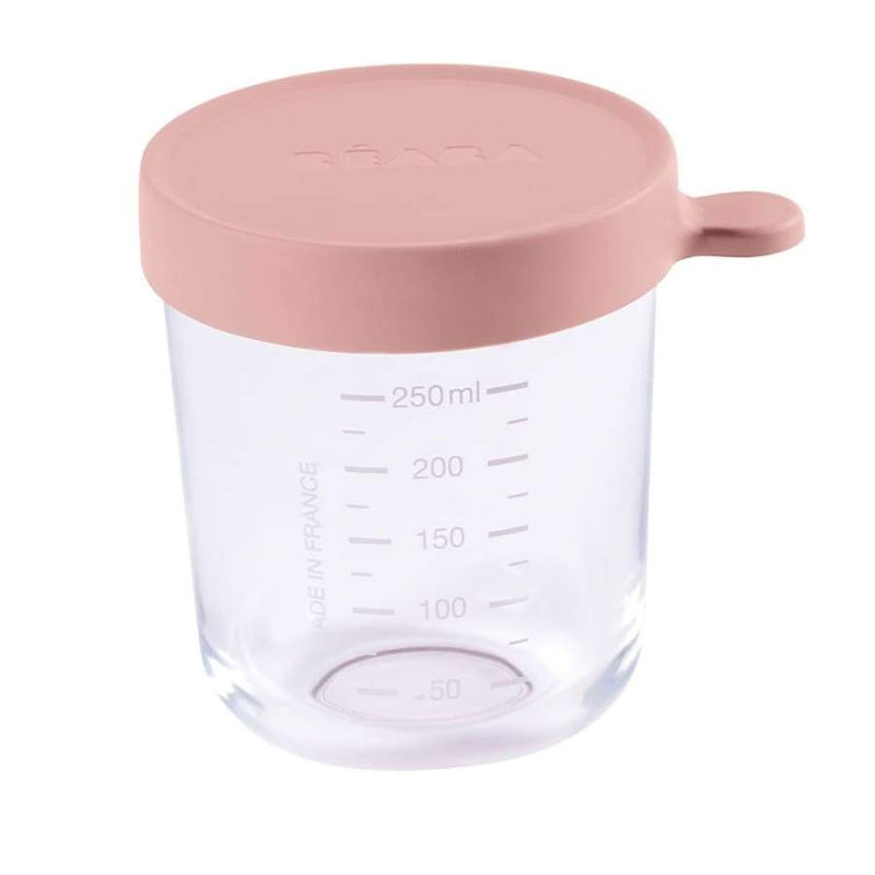 Beaba Superior Glass 250ML Pink | Beaba | Baby Feeding