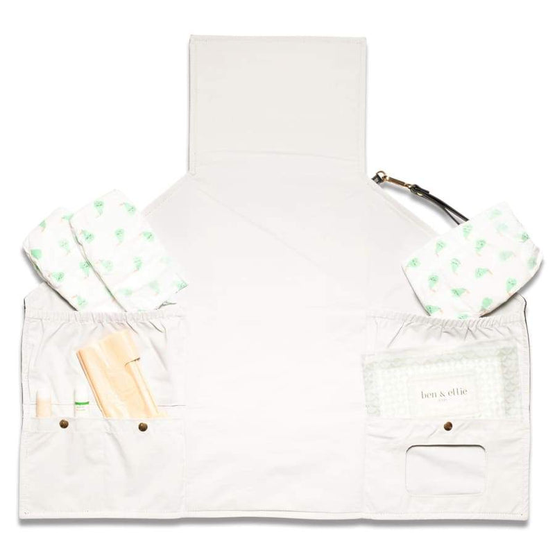 Ben & Ellie Baby Nappy Change Clutch & Wipes Case Set | Ben & Ellie Baby | Baby Essentials